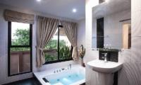 Baan Chatmanee Master Bathroom | Pattaya, Thailand
