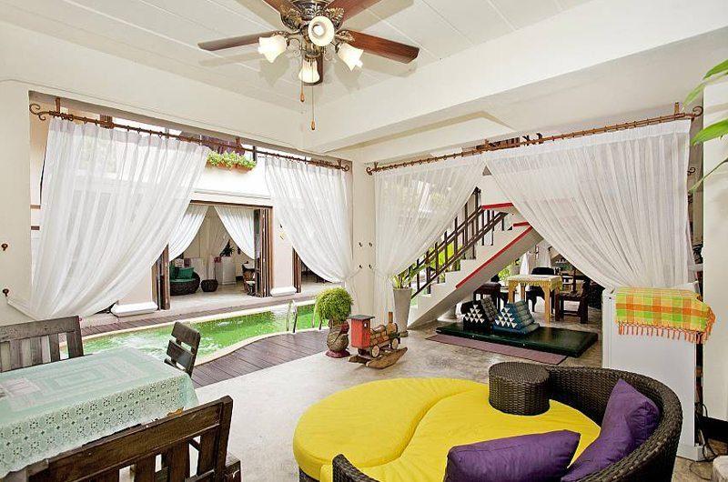 Jomtien Lotus Villa Living Area | Pattaya, Thailand