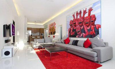 Pratumnak Regal Villa Living Area | Pattaya, Thailand