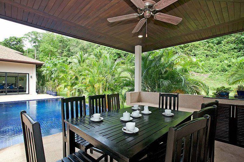 Villa Anyamanee Outdoor Dining | Phuket, Thailand