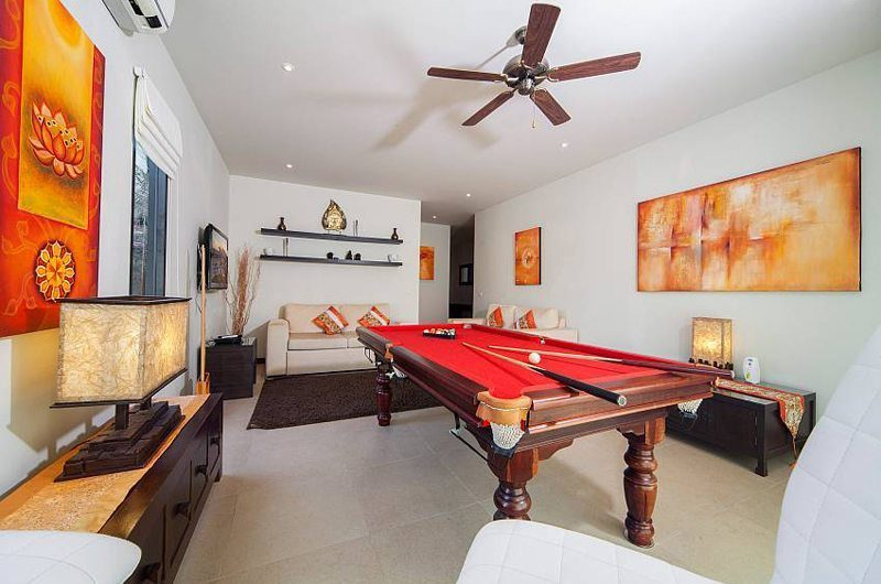 Villa Ploi Attitaya Pool Table | Phuket, Thailand