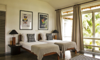 Claughton House Bedroom with Twin Beds | Dickwella, Sri Lanka
