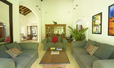 Coconut Grove Living And Dining Area | Koggala, Sri Lanka