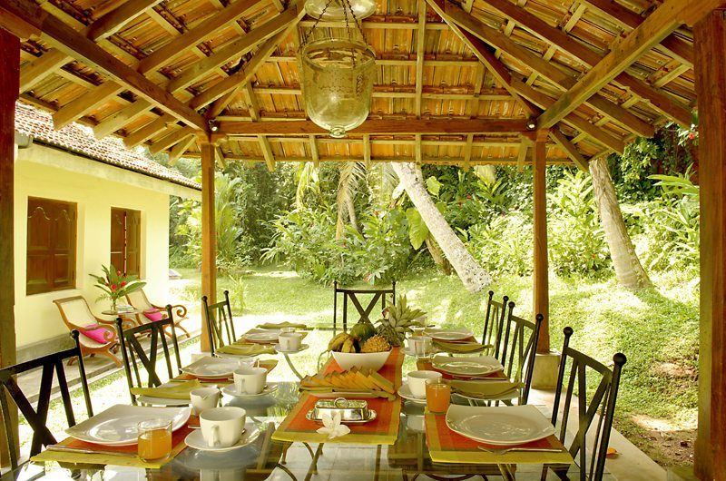 Coconut Grove Outdoor Dining | Koggala, Sri Lanka