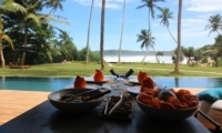 Talalla House Outdoor Dining | Talalla, Sri Lanka