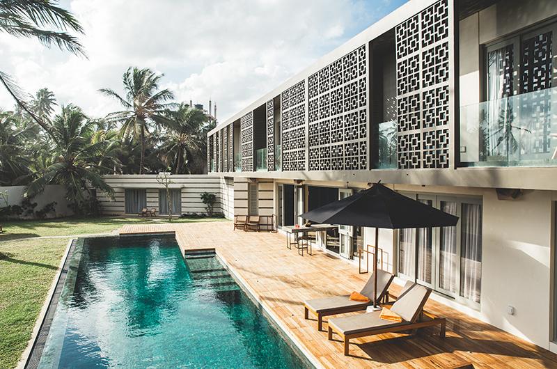 Talalla House Wooden Deck | Talalla, Sri Lanka