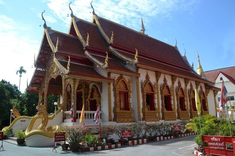 Wat Phra Mahathat Woramahawihan Thai Temples on Local Coins