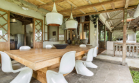 Villa Galante Open Plan Dining Area   Umalas, Bali