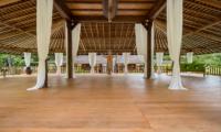 Villa Nag Shampa Indoor Yoga Room | Ubud Payangan, Bali