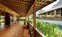 Villa Nag Shampa Balcony | Ubud Payangan, Bali