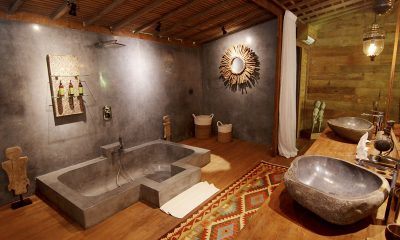 Villa Nag Shampa En-suite Bathroom Two | Ubud Payangan, Bali
