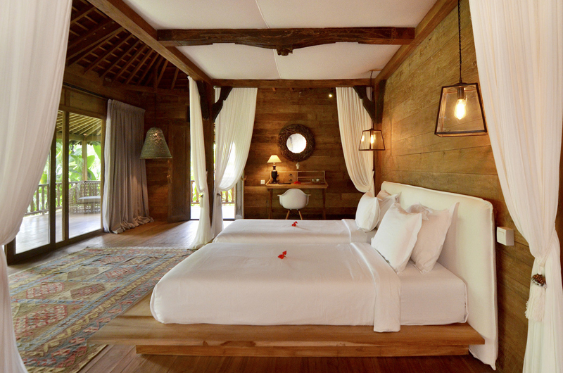 Villa Nag Shampa Twin Bedroom One | Ubud Payangan, Bali