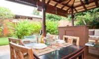 Villa Serena Dining Area | Koh Lanta, Thailand