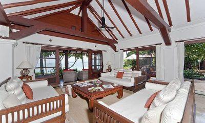 Bangrak Beachfront Villa Living Room | Koh Samui, Thailand
