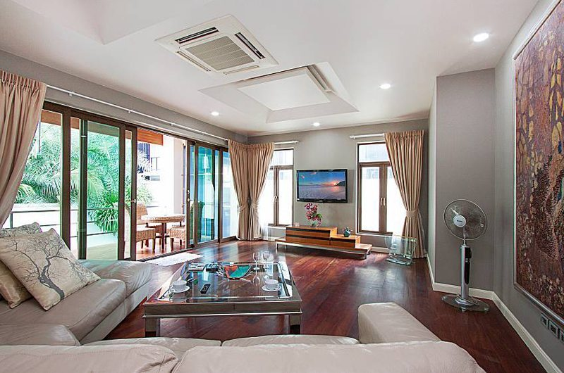 Angels Villa Living Area | Pattaya, Thailand