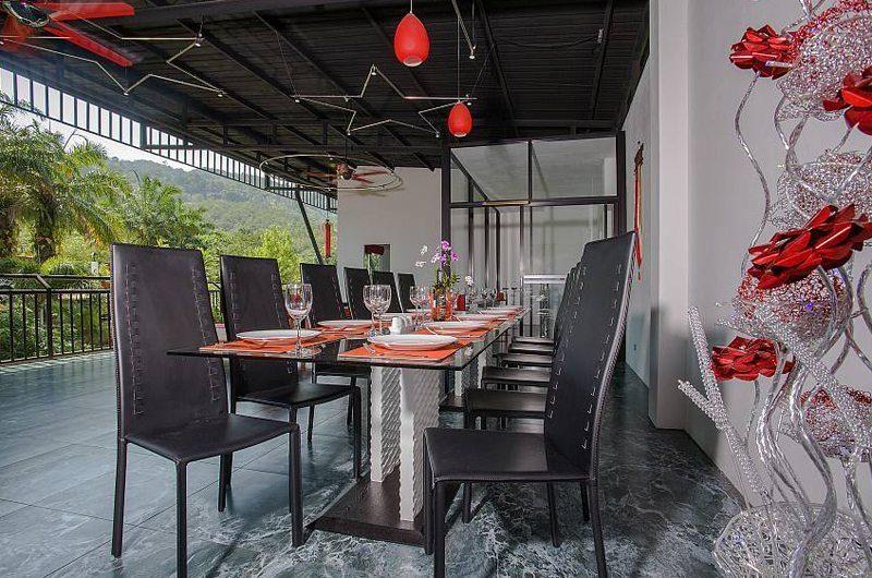 Big Buddha Hill Villa Dining Area   Phuket, Thailand