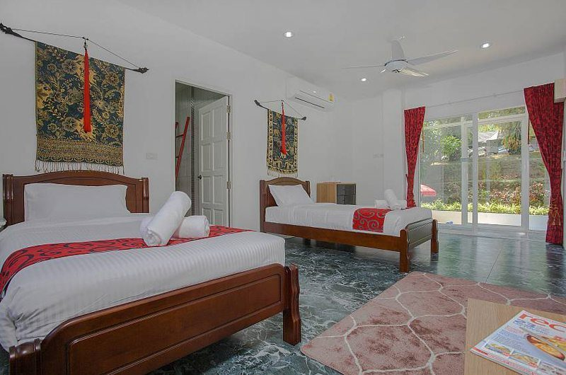 Big Buddha Hill Villa Twin Bedroom | Phuket, Thailand