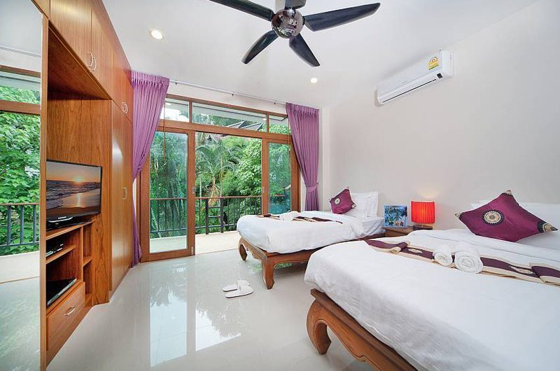 Patong Hill Estate Seven Twin Bedroom | Phuket, Thailand