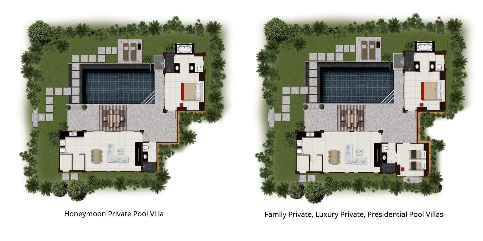 The Bell Pool Villas Resort Floorplan | Kamala, Phuket