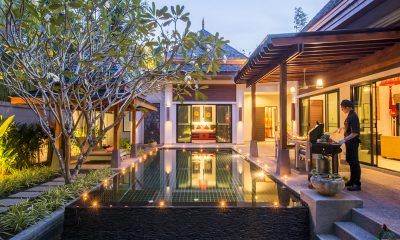 The Bell Pool Villa Resort Night View | Kamala, Phuket