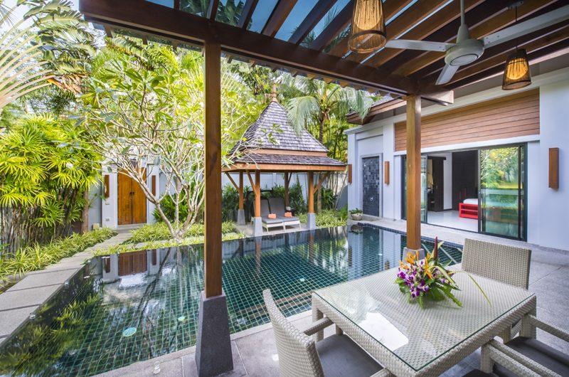 The Bell Pool Villa Resort Pool Side Dining | Kamala, Phuket