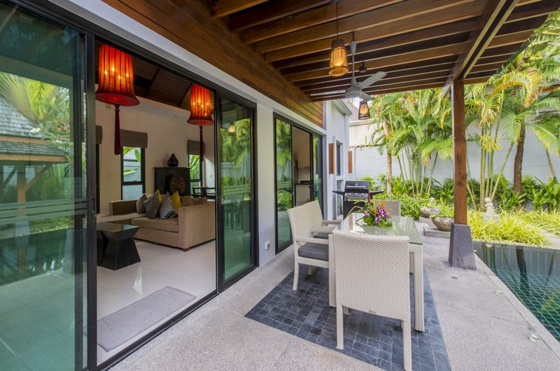The Bell Pool Villa Resort Outdoor Dining with Pool View | Kamala, Phuket