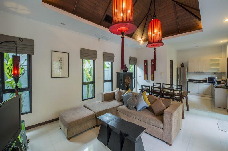 The Bell Pool Villa Resort Indoor Living Area | Kamala, Phuket