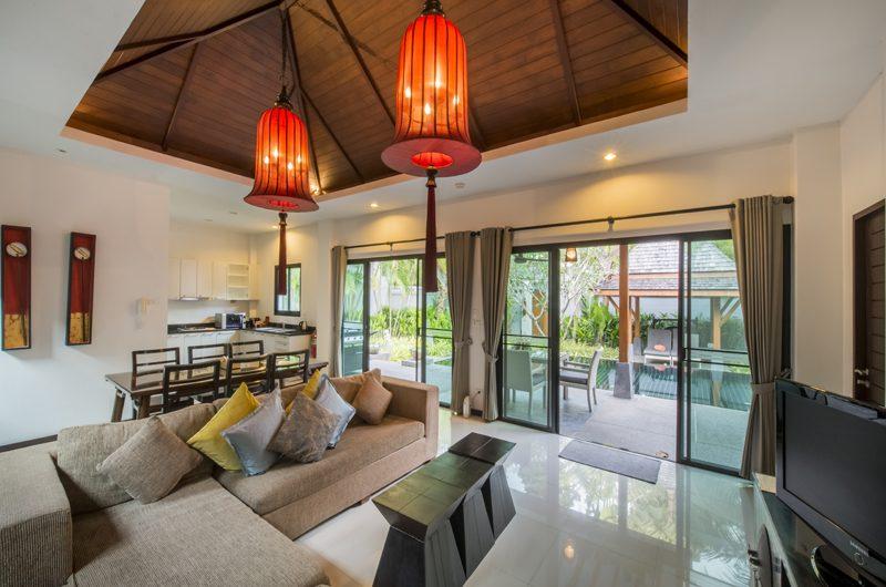 The Bell Pool Villa Resort Living Area | Kamala, Phuket