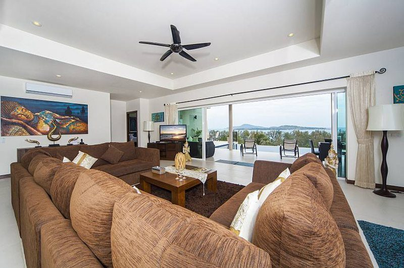 Villa Hin Fa Living Area | Phuket, Thailand