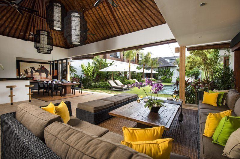 Villa Anam Living And Dining Area | Seminyak, Bali