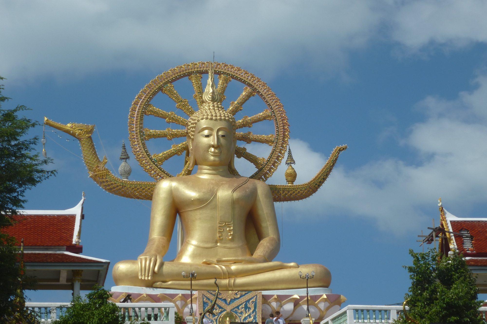 Big Buddha Bang Rak Koh Samui Thailand