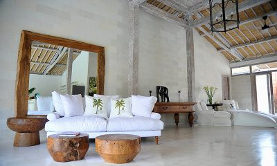 Santai Beach House Living Area | Canggu, Bali