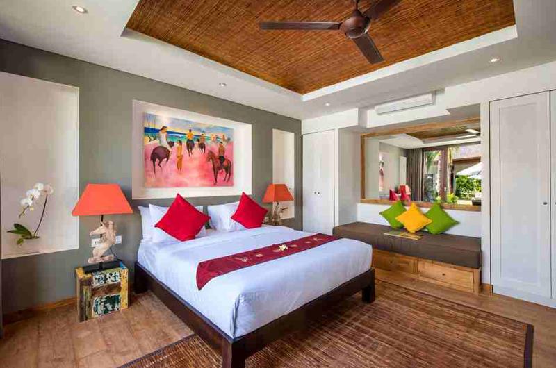 Villa Anam Spacious Bedroom with Sofa   Seminyak, Bali