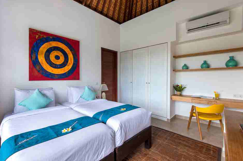 Villa Anam Bedroom with Twin Beds   Seminyak, Bali