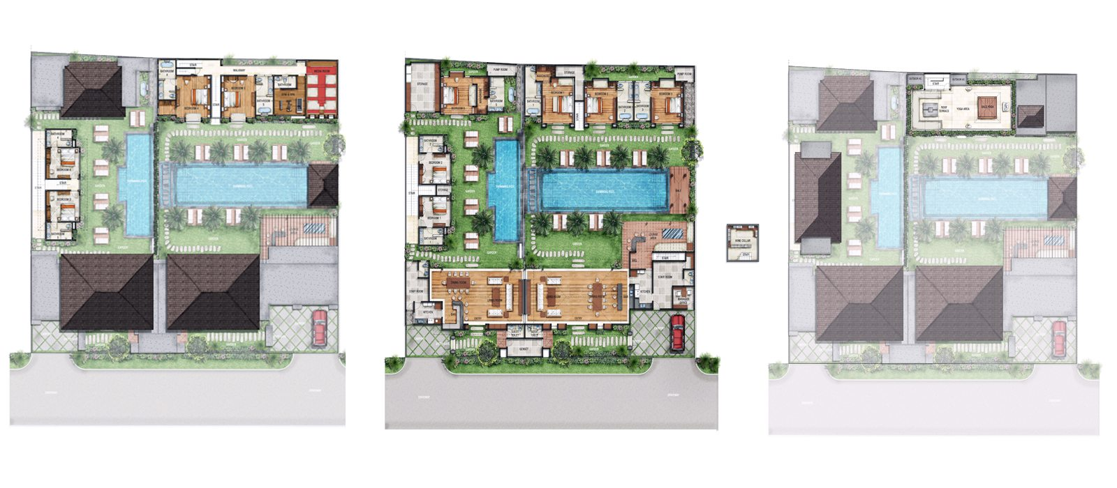 Villa Anam Floorplan | Seminyak, Bali