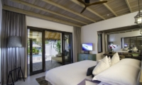 Finolhu Beach Pool Villa Bedroom | Baa Atoll, Maldives