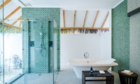 Finolhu Beach Pool Villa Bathroom | Baa Atoll, Maldives