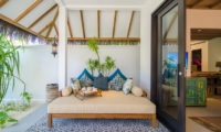Finolhu Beach Villa Living Area | Baa Atoll, Maldives