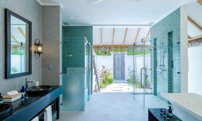 Finolhu Beach Villa Bathroom | Baa Atoll, Maldives