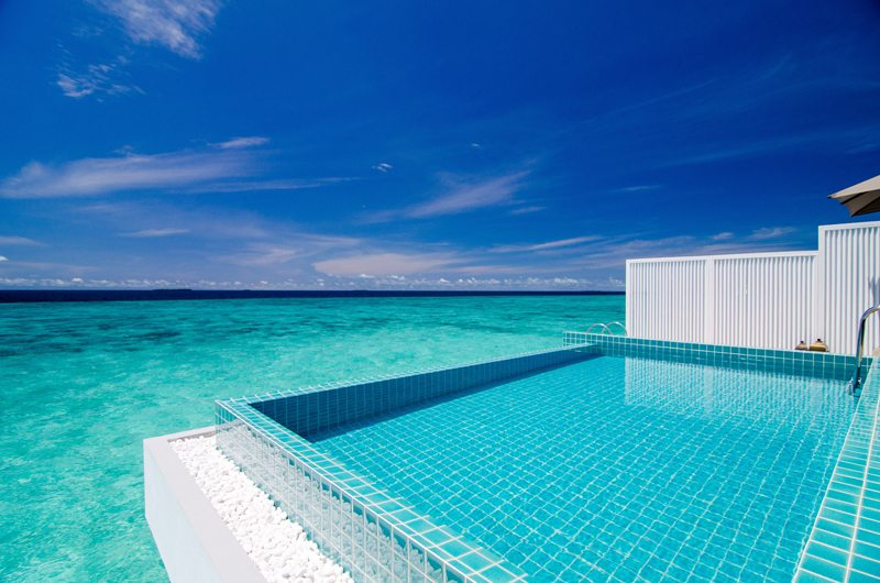 Finolhu Ocean Pool Villa Swimming Pool | Baa Atoll, Maldives