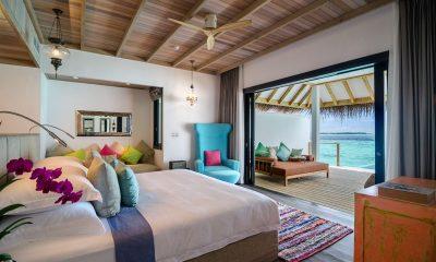 Finolhu Ocean Pool Villa Bedroom | Baa Atoll, Maldives