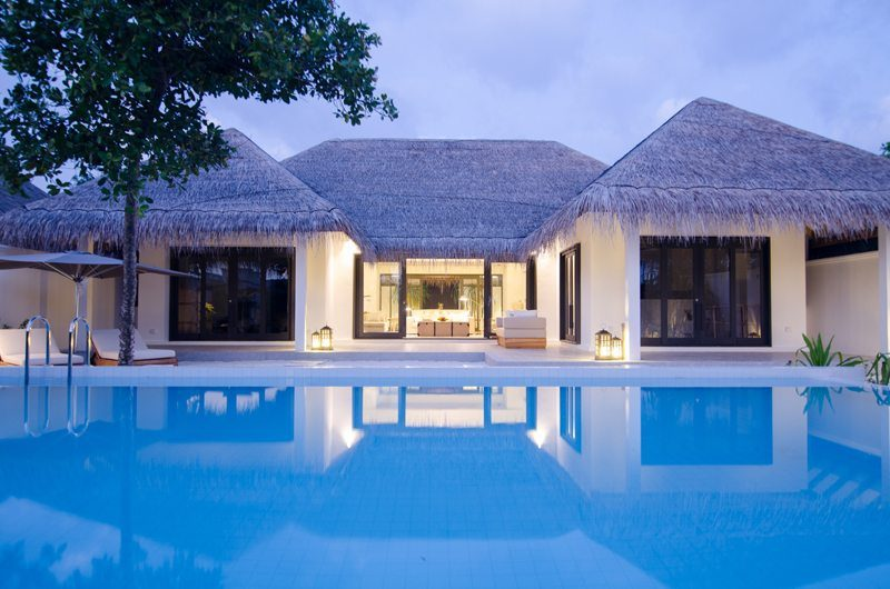 Finolhu Two Bedroom Beach Pool Villa Swimming Pool | Baa Atoll, Maldives