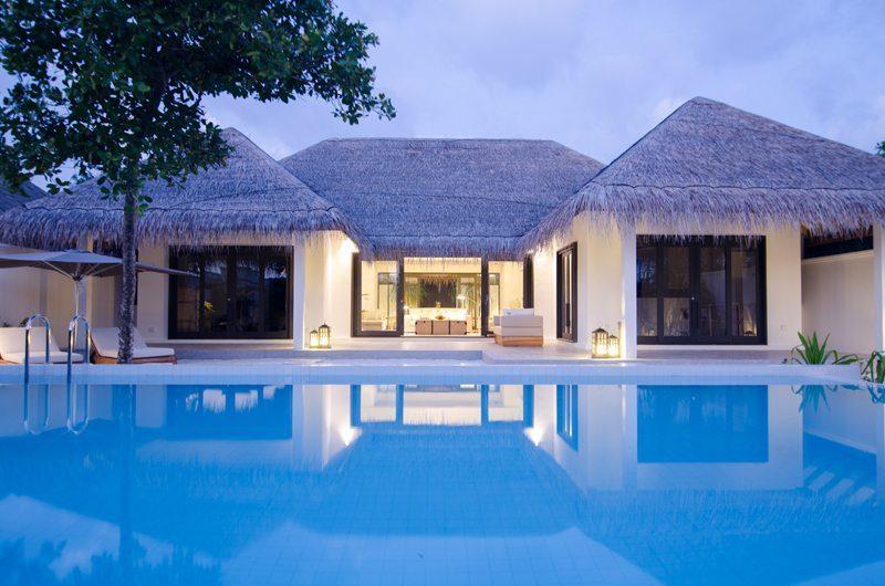 Finolhu Two Bedroom Beach Pool Villa Swimming Pool | Baa Atoll, Maldives