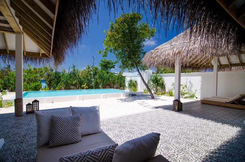Finolhu Two Bedroom Beach Pool Villa Outdoor View | Baa Atoll, Maldives