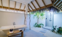 Finolhu Two Bedroom Beach Pool Villa Bathroom | Baa Atoll, Maldives