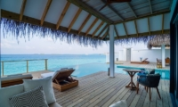 Finolhu Two Bedroom Ocean Pool Villa Pool Side | Baa Atoll, Maldives