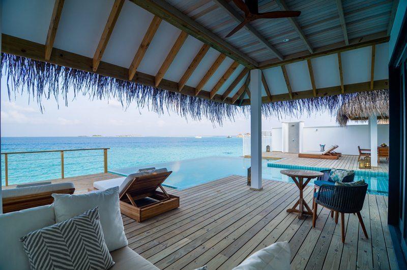 Finolhu Two Bedroom Ocean Pool Villa Pool Side | Baa Atoll, Maldives