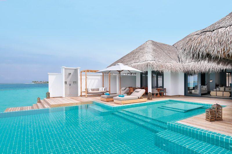 Finolhu Two Bedroom Ocean Pool Villa Swimming Pool | Baa Atoll, Maldives