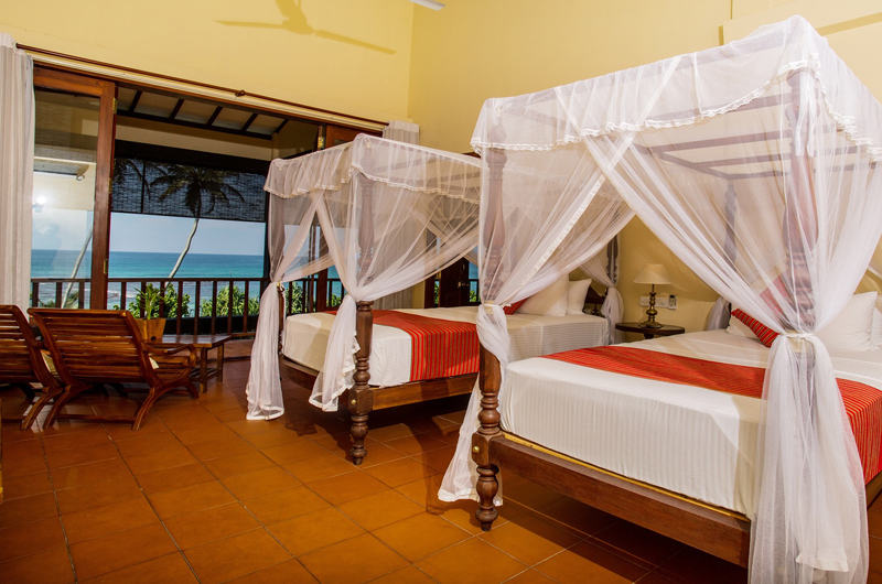 South Point Ocean Twin Bedroom with Sea View | Galle, Sri Lanka