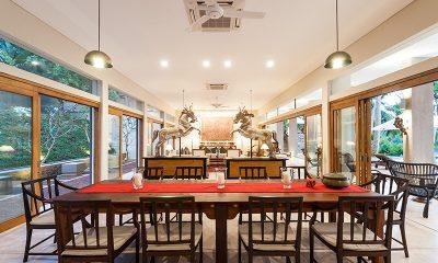 Villa Serendipity Dining and Living Area   Koggala, Sri Lanka